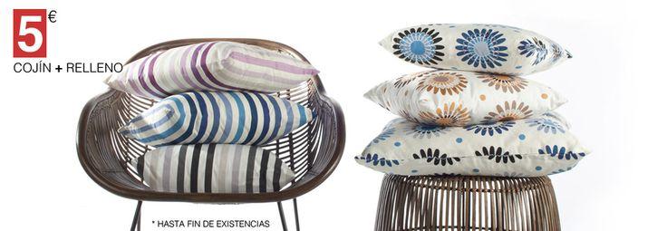 Cushions with wonderful prints