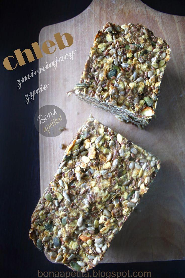 Bona Apetita! blog kulinarny, wnętrza, żyj ze smakiem!: Chleb zmieniający życie - pieczywo bez mąki. Z cyk...