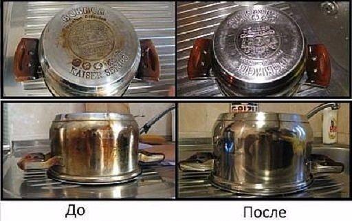 Кухонный суперочистительВсего 2 ингредиента, которые всегда есть дома под рукой. Положите 1/4 стакана соды, в миску добавить достаточно перекиси, чтобы сделать пасту. - Натрите губкой.Плита, духовка, …