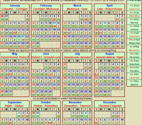 25+ best ideas about Islamic calendar 2015 on Pinterest | When ...
