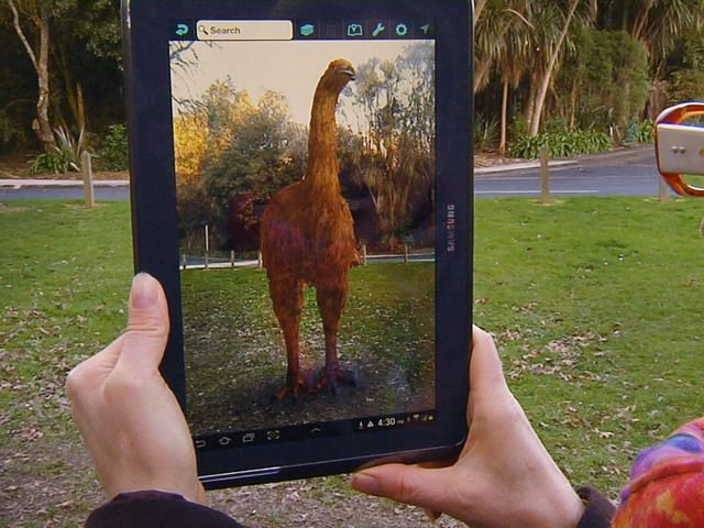 The Moa is back! NZ's 1st Virtual Bird Park in Otorohanga by Mel Langlotz — Kickstarter