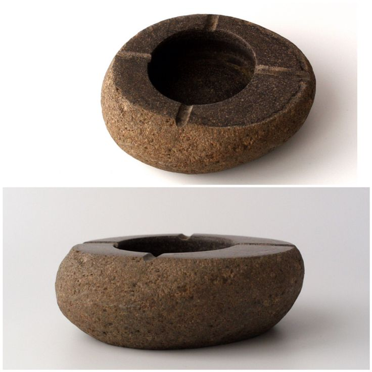 Stone ashtray by Fenalie.