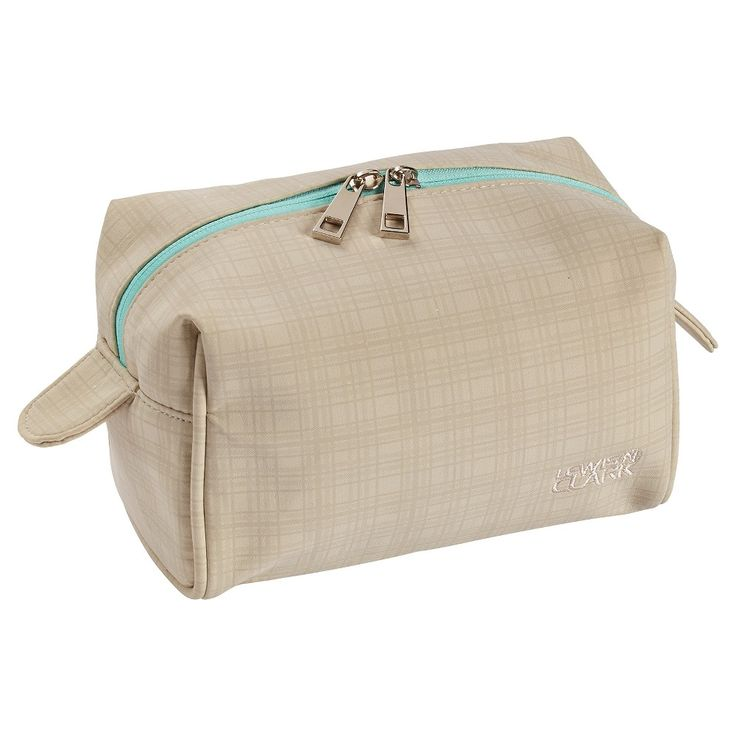 Lewis N. Clark Travel Cosmetic Case (Large), Beige