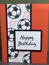 Stampin Up Card Happy Birthday Card Kids Soccer