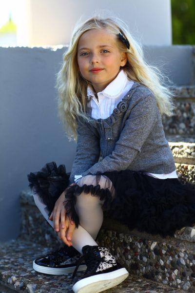 Lapin House Школьная форма для девочки: кардиган и юбка