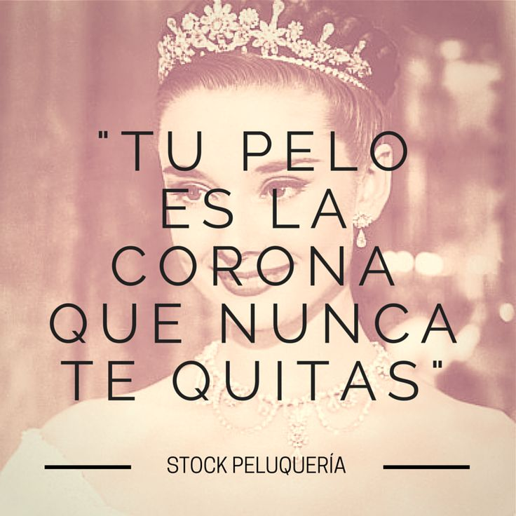 Frase de #peluqueria.