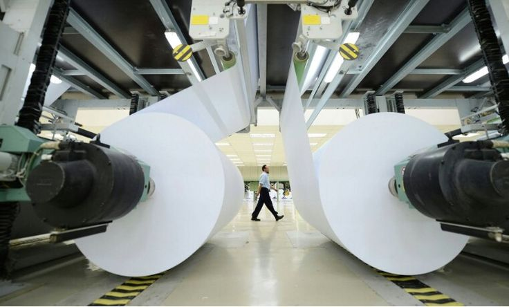 Industria papelera.