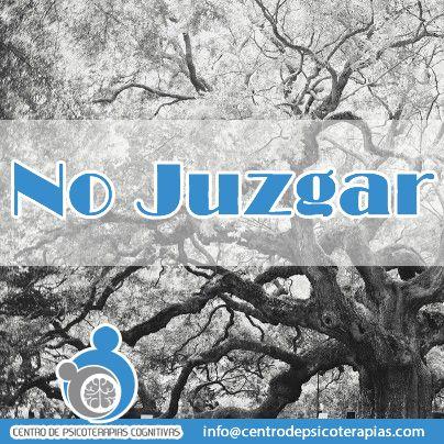 """Nuestro programa para la prevención de recaídas basado en Mindfulness te invita a NO JUZGAR...  """"Esto requiere que nos posicionemos como testigos imparciales de nuestra experiencia, tomando consciencia del flujo de juicios y reacciones hacia eventos tanto internos como externos, evitando etiquetar y ser arrastrados por esta corriente, incluyendo el juzgar nuestros juicios, para simplemente darse cuenta de lo que está ocurriendo"""" (Kabat-Zinn)."""