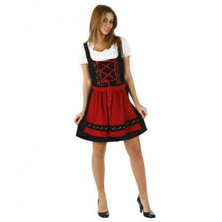 #Campesina  Disfraz de Campesina. Tienda de disfraces online. El disfraz incluye: Vestido y delantal Composición: Antelina y punto http://www.disfracessimon.com/disfraces-adultos/480-disfraz-campesina-p-480.html