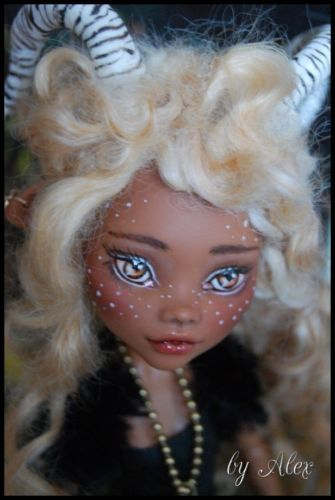 """OOAK Monster High Doll """"Little Forest Fawn""""Repaint and Custom by Alex 