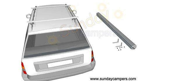 Car Foxwing Awning /Caravan Awning side vehicle Awning