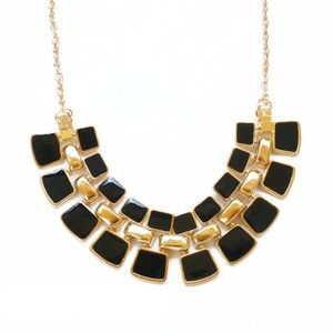 The Aster Necklace in black click link to buy!!! ♥️♥️