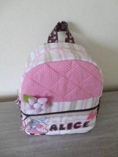 mochila infantil de tecido personalizada