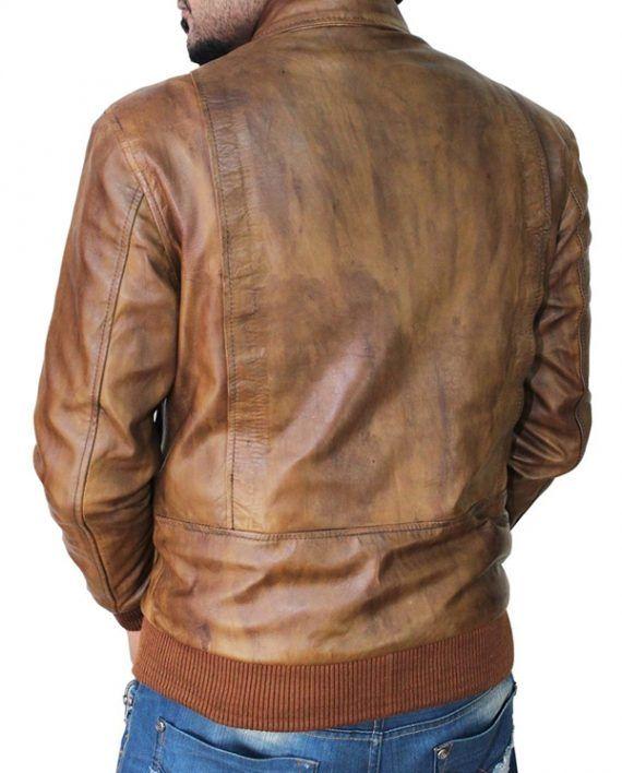 Ansel Elgort Biker Jacket