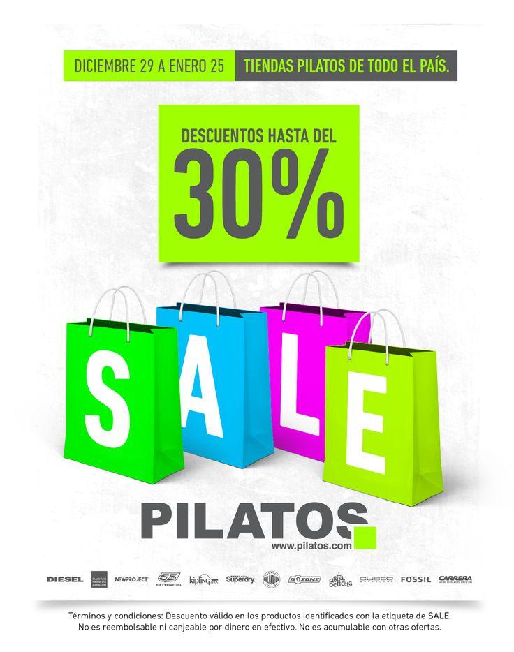 Tienda PILATOS en el Local 10 / Alamedas Centro Comercial #Piensaenti Te esperamos !!!