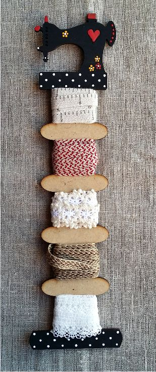 Organizador de hilos - Maquina de coser - artboton