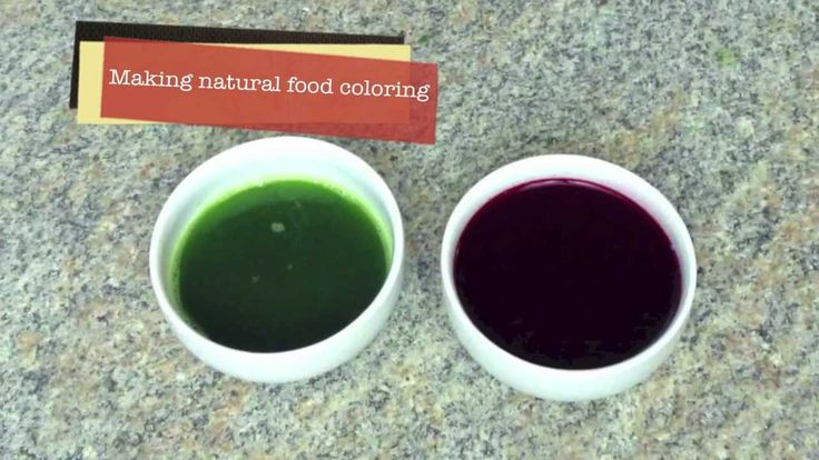 How to make natural food coloring | Healthy Living | Pinterest ...