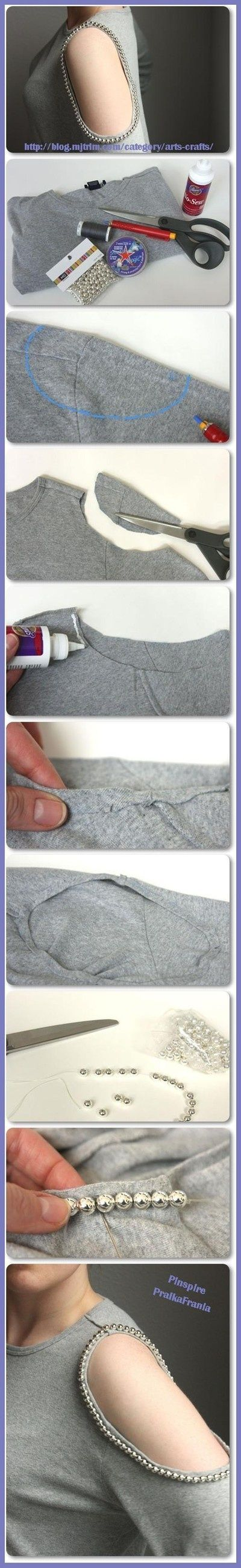 Diy customisation d'un tee-shirt