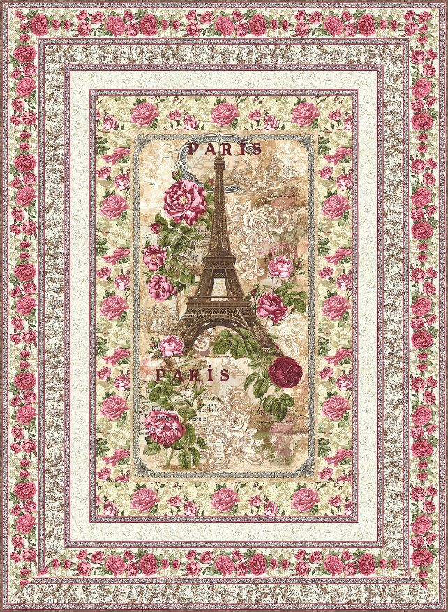 Paris Rendezvous FREE Quilt Pattern - personalize your own at http://www.equilter.com/pattern/640/paris-rendezvous