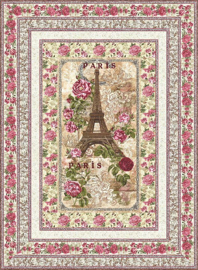 Paris Rendezvous FREE Quilt Pattern - personalize your own at http://www.equilter.com/pattern/640/paris-rendezvous