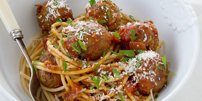 Meatballs & Spaghetti Michelle Bridges - 12WBT 287 Cal per serve