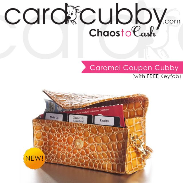 New Product: Caramel Coupon Cubby! This brand new design comes with a  FREE keyfob! | BUY IT NOW: http://cardcubby.com/collections/more/products/caramel-coupon-cubby #cardcubby #couponcubby #card #cubby #creditcard #coupon #saving #money #wallet #purse #bag #giftcard #gift #shopping #ideas #tips