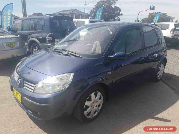 2005 Renault Scenic Dynamique Blue Manual 5sp M Wagon #renault #scenic #forsale #australia