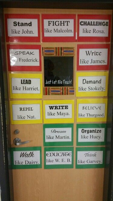 Classroom Door Decoration Ideas For Black History Month ~ Best images about black history month ideas on