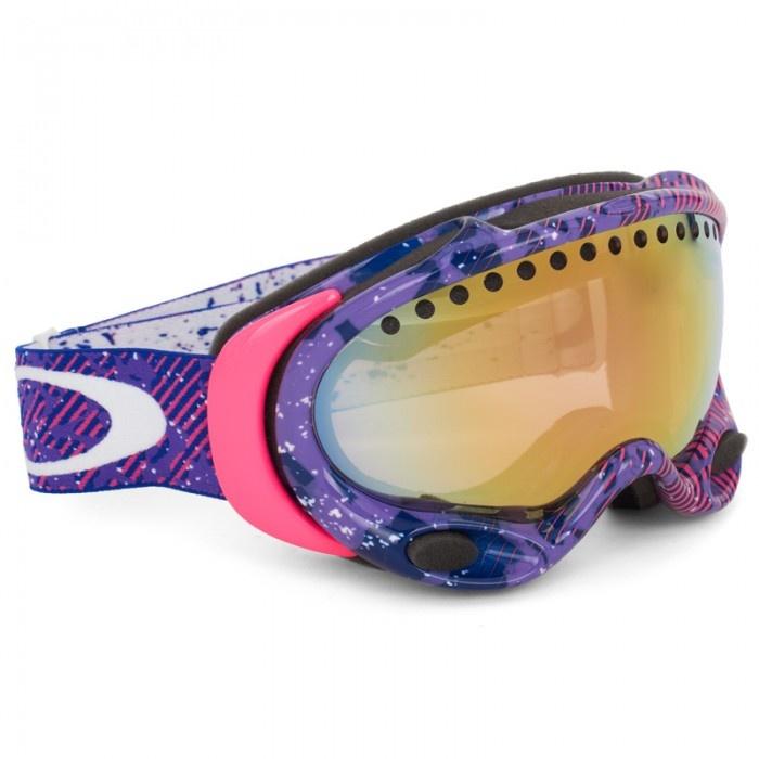 #Oakley A Frame Purple-Pink #Goggles  @ALEXANDALEXA.COM