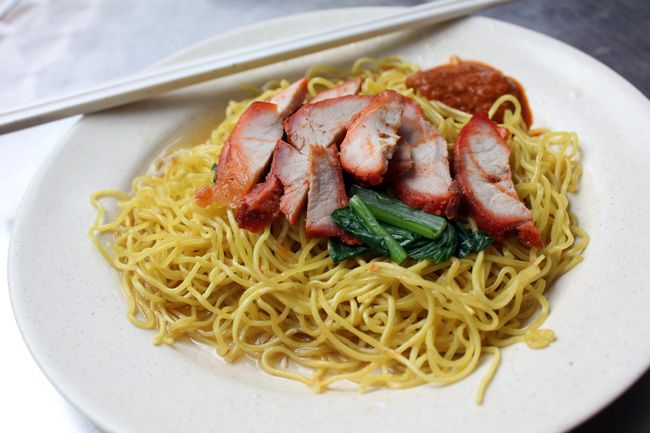 Nam Seng Noodle House – Old National Library Wanton Mee - DanielFoodDiary.com