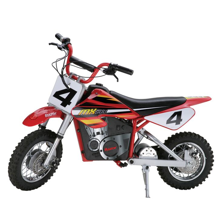 "Boy's 16"" Dirt Rocket MX500 High Performance Electric Motocross Bike"