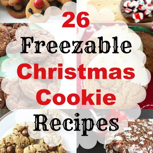 26 Freezable Christmas Cookie Collage Square (Custom)