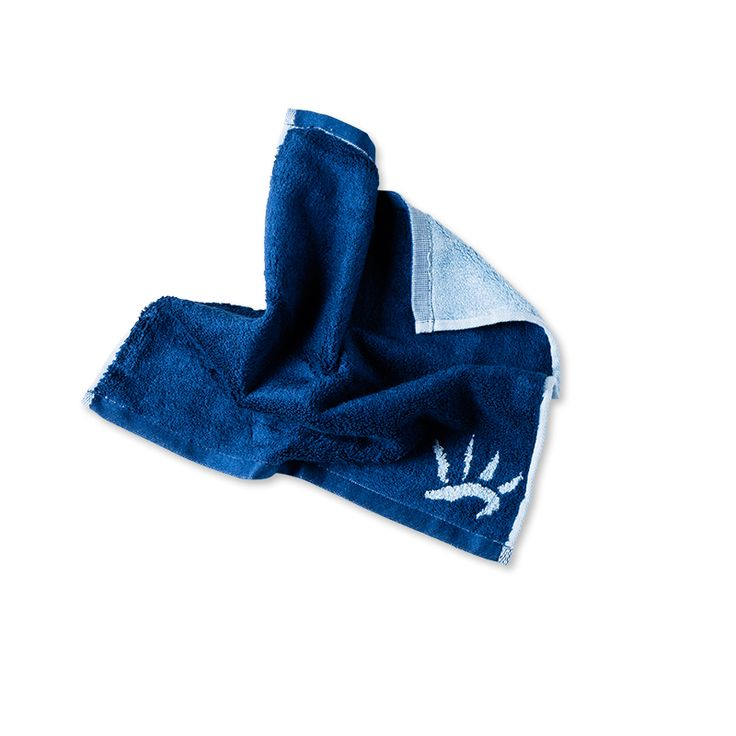 Men's Face Towel - Ocean. Bamboo fibre Men's Face Towel, super soft, perfect for drying newly shaved skin.