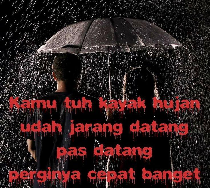 Hujan bikin galau