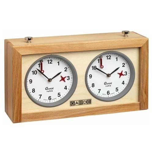 Wood #analog chess #clock garde-timer-schachuhr.orologio per #scacchi-new line 20, View more on the LINK: http://www.zeppy.io/product/gb/2/182194604889/