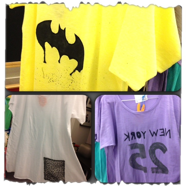 Hand Painted T-shirts !! Find them www.missflamingo.gr