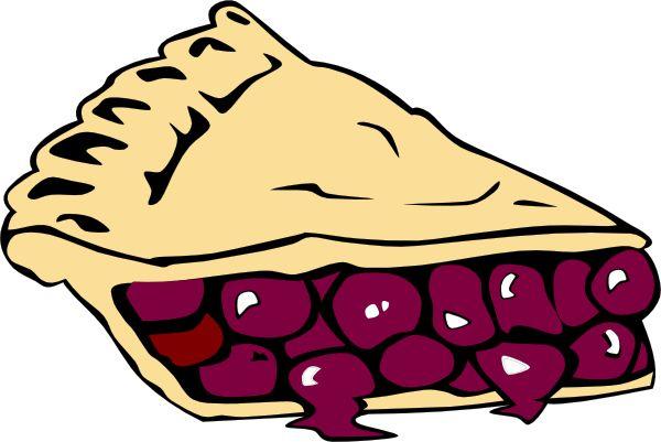 Slice of blueberry Pie Clip Art | Cherry Pie clip art ...