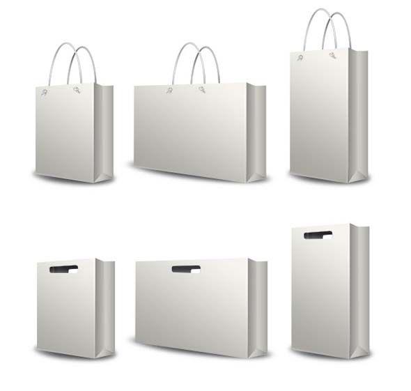 Shopping Bag Mockup Set