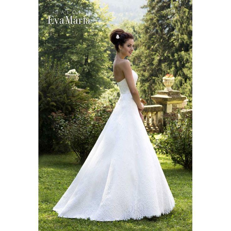 Svadobné krajkované šaty Shirly