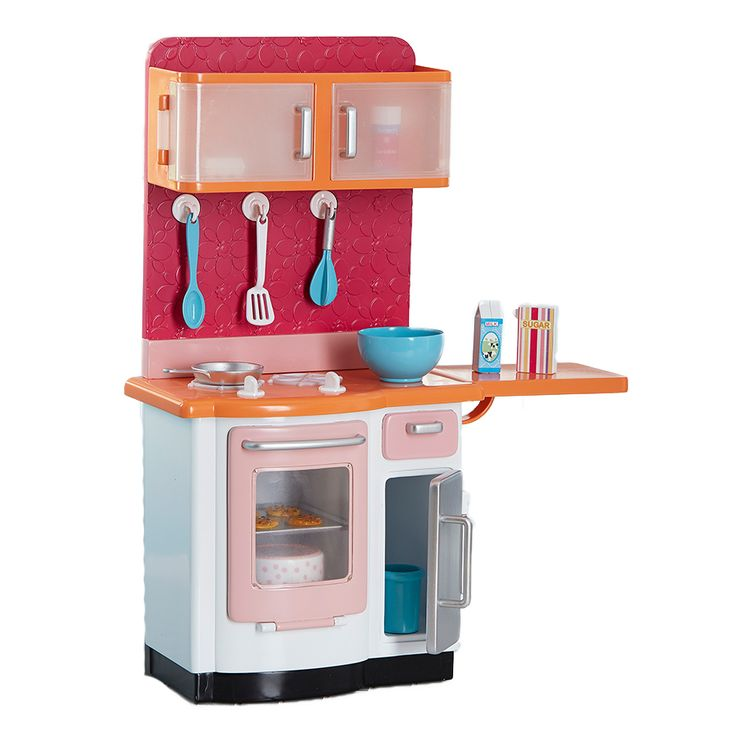 Journey girls doll kitchen play set toys r us australia for Kitchen set at toys r us