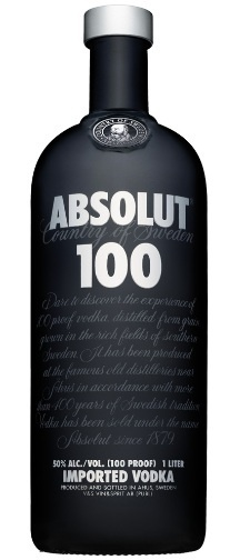 Absolut 100 Proof Vodka of course!! Premium Vodka no sugar added...  Keep a bottle in the cooler...