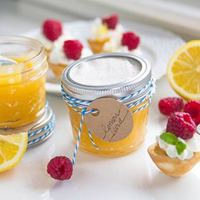Bright and full of fresh lemon flavor this quick and simple homemade lemon curd is perfect for spooning atop scones, or serving as a lemon-pie filling for little meringue tarts. You'll be surprised how easy it is to make it on your own! Stores in an airtight container in the fridge for up to 2 weeks.