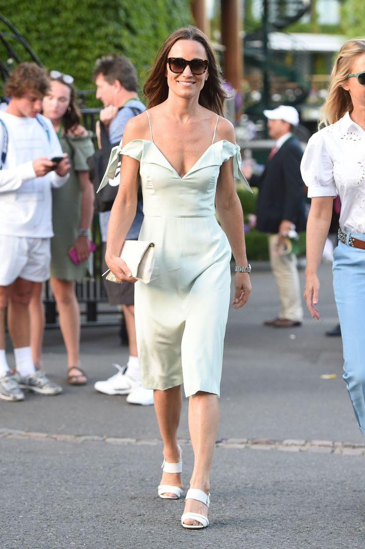 Pippa Middleton's Latest Wimbledon Outfit Is Officially This Summer's Perfect Dress
