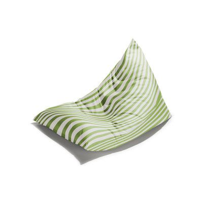 Twist Outdoor Bean Bag Chair Color: Lime Striped - http://delanico.com/bean-bag-chairs/twist-outdoor-bean-bag-chair-color-lime-striped-589107449/