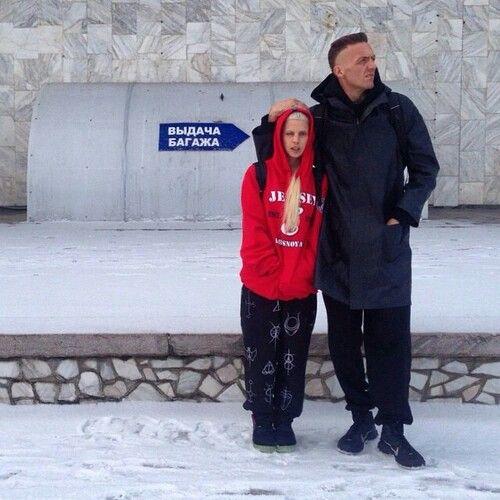 Ninja and Yolandi in Russia. Die Antwoord