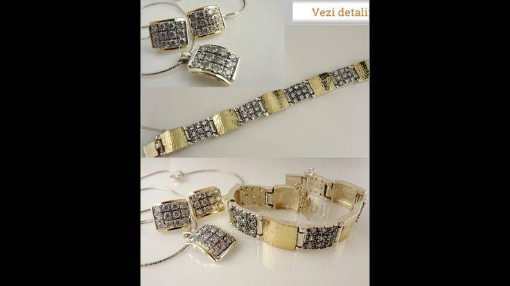 Bijuterii argint cu pietre superbe www.regalgold.ro