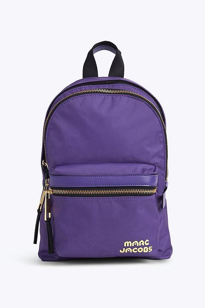 61cc7a6d9e486 Marc Jacobs Trek Pack Medium Backpack in Eggplant