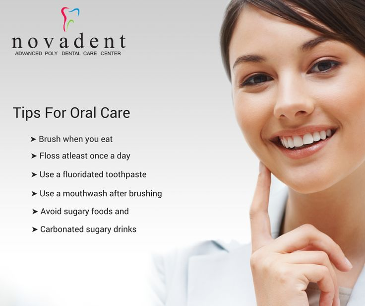 Tips For Oral Care #Dental #Dentalcare ➤ http://www.novadenttly.com/