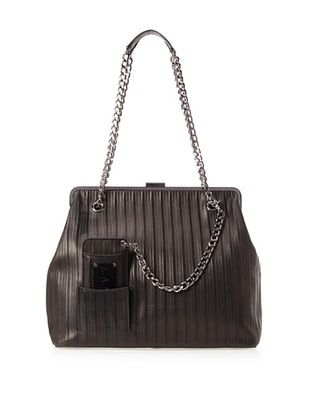 55% OFF L.A.M.B. Women's Bobo Shoulder Bag (Black)