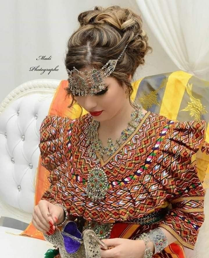 Pin By Nadjet On Robe Kabyle Berbere Algerian Clothing Traditional Dresses Traditional Outfits